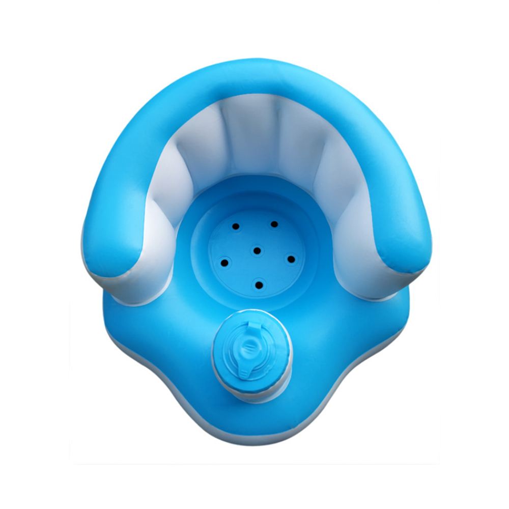 42*46*47 Cm Baby Kid Children Inflatable Bathroom Chair Seat Learn Portable Multifunctional Sofa Swimming Tools