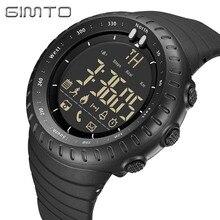 Bluetooth Smart Watch GIMTO Digital Sport Watch Men Waterproof Male Military electronic wristwatches LED Pedometer Smartwatch