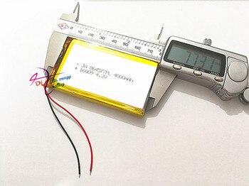 10pcs Polymer battery 4000 mah 3.7V 864577 smart home MP3 speakers Li-ion battery for dvr,GPS,mp3,mp4,cell phone,speaker