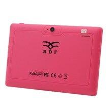 Niza Q8 7 Pulgadas Tabletas Pc 1 GB 16 GB WIFI Quad Core de Doble Cámara Blck blanco Rosa Color Tablet Pc android tablet pc 8 9 10 10.1