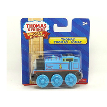 Toys Hobbies - Diecasts  - W90 Free Shipping Thomas And Friends Wooden Magnetic Locomotive Kids Orbital Toys Boutique Gift Box