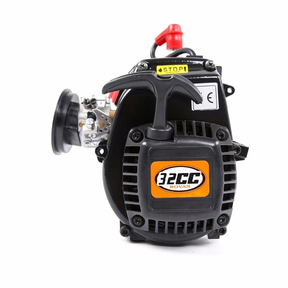 32cc 4 boulons moteur pour 1/5 hpi rovan king moteur baja losi rc pièces de voiture