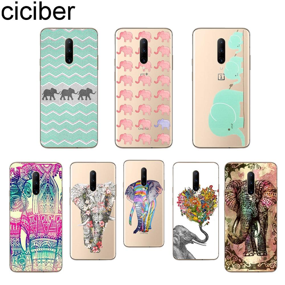 ciciber Elephant Phone Cases For font b Oneplus b font font b 7 b font font