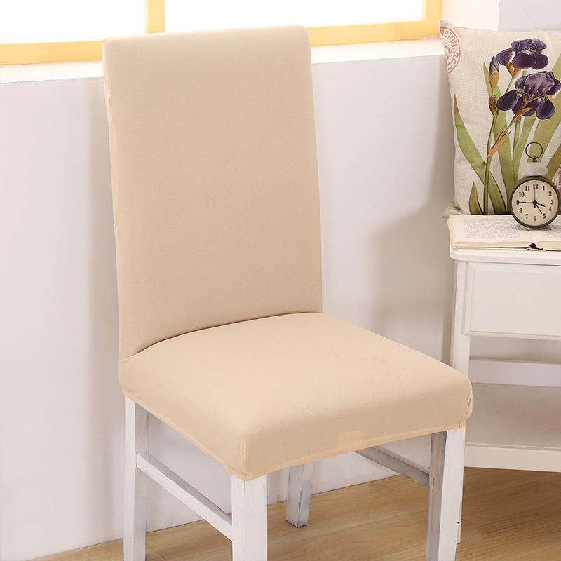 Modern Stretch Chair Covers Solid Color Chair Slipcover Anti-dirty Protector for Wedding Banquet Chair Decoration Mother Gifts