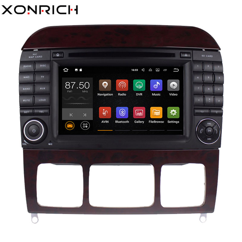 Xonrich Car Multimedia font b Player b font 2 din Android 8 1 AutoRadio For Mercedes