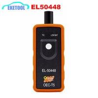2019 Beste Kwaliteit EEN + EL50448 Auto Tire Presure Monitor Sensor OEC-T5 EL 50448 Voor GM/Opel TPMS Reset tool EL-50448 Elektronische