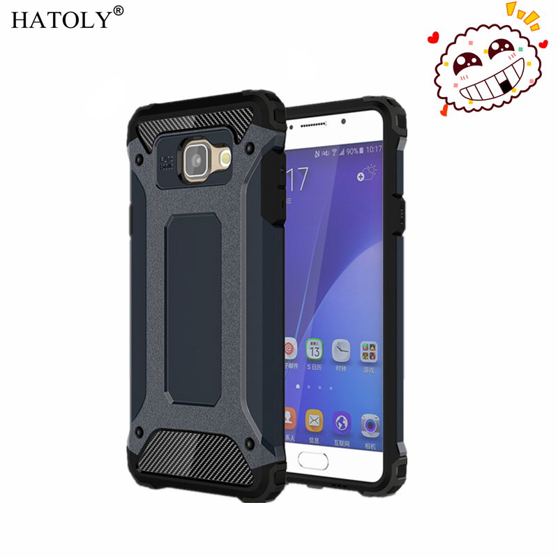 For Samsung Galaxy A5 2016 Case Heavy Duty Armor Slim Hard Tough Rubber Cover Silicon Phone Case for Samsung A5 2016 A510 A510F