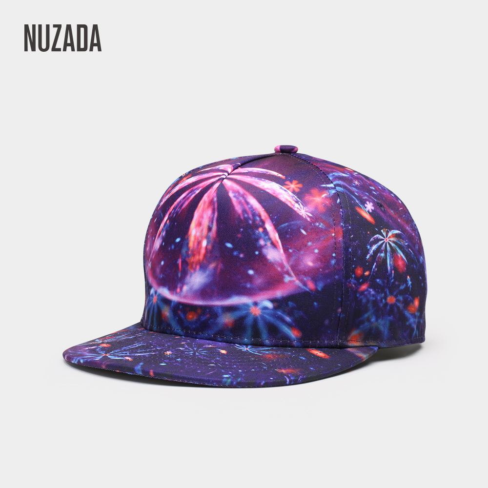 NUZADA Quality 3D Printing Women Men   Baseball     Cap   Neutral Couple Original Bone   Caps   Spring Summer Autumn Cotton Hats
