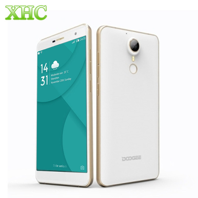 DOOGEE F7 Deca Core Smartphone 4G LTE 32GB +3GB Fingerprint Id 3400mAh 5.5'' Android 6.0 Helio X20 MTK6797 13.0MP Cell Phone