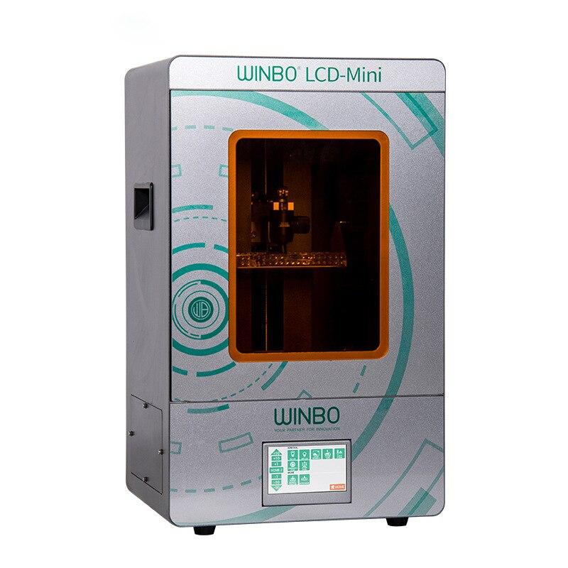 SLA 3D imprimante 405nm UV résine haute précision mini LCD 3D imprimante Photon UV photonique SLA/DLP 3D imprimante dent bijoux - 4