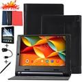 "Estilo de luxo Litchi Caso Capa de Couro Para Guia Lenovo YOGA 3 YT3-X50F YT3-X50L YT3-X50M X50F X50L X50M 10.1 ""Tablet Tampa do Suporte"