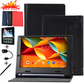 "Luxury Litchi Style Leather Cover Case For Lenovo YOGA Tab 3 YT3-X50F YT3-X50L YT3-X50M X50L X50F X50M 10.1"" Tablet Stand Cover"
