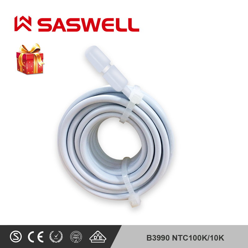 SASWELL 10K Temperature Sensor Probe For Floor Heating Room Thermostat B3977 NTC 10K/B3990NTC100K