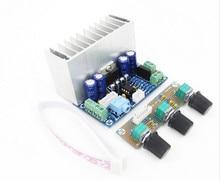 XH-M342 AC/DC12 20 W * 2 + 30 W PBTL TDA7377 super bass 2.1 canali bordo dell'amplificatore di potenza Subwoofer bordo amplificatore audio