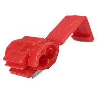 50PCS Red Scotch Lock Quick Splice Electrical Cable Connector Wire Connector