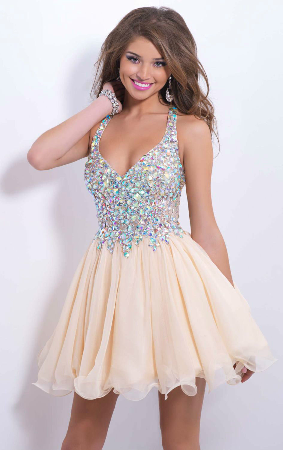Popular Sparkly Short Homecoming Dresses-Buy Cheap Sparkly Short ...