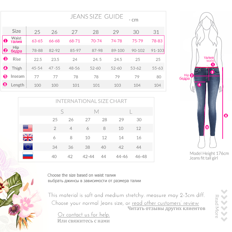 17 Modaberries women skinny jeans black high waist rise in dark 1