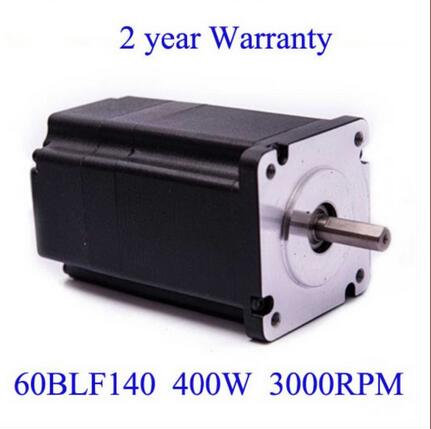 купить Brushless DC Motor 48V 400W 3000rpm Square Flange 60 mm онлайн