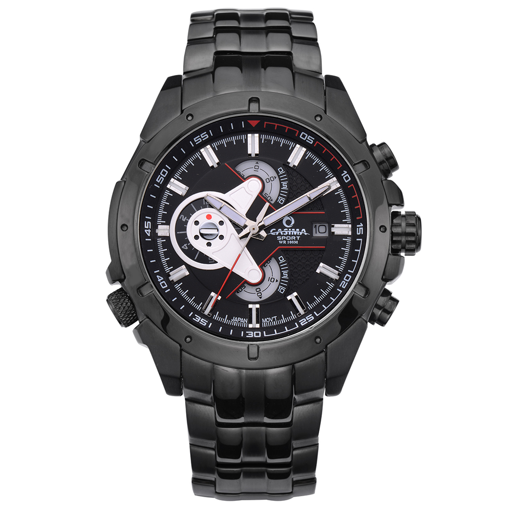 ФОТО CASIMA Luxury Brand Sport Men's Watches Multi-functional Fashion WristWatches Quartz Men Waterproof watch relogio masculino