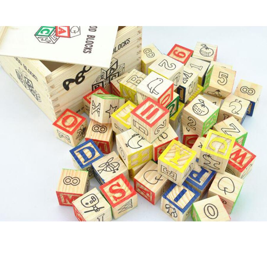 english alphabet blocks early teaching characters wooden toys numbers letters graphics birthday gifts christmas gifts for