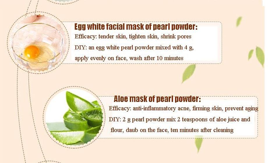 Treatments & Masks 2019 New Face Mask Pearl Powder Ground Ultrafine Acne Whitening Mask Powder Blackheads Fade Spot Face Cream Repair