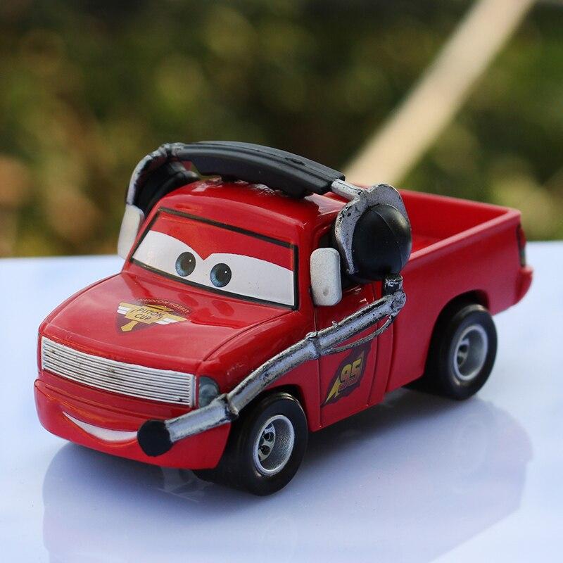 Disney Pixar Cars No 95 Flash McQueen Métal Jouet Voiture Garçon Cadeau