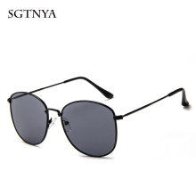 New trend sunglasses brand designer men and women metal retro fashion glasses UV400