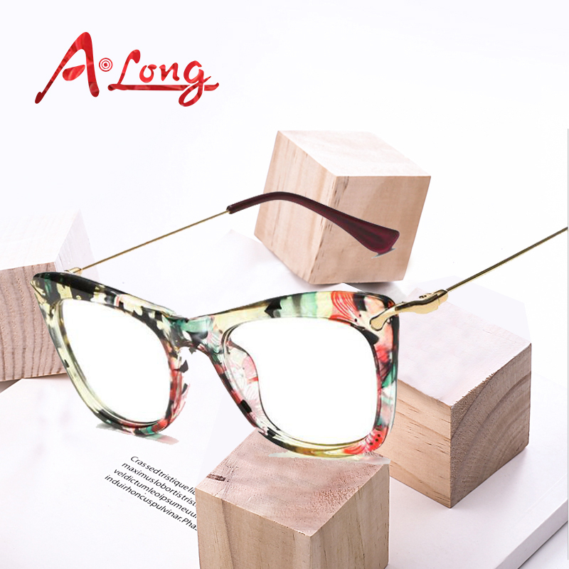 c02339fd0f Best buy A Long Retro Metal Optical Glasses Frame Women Fashion Square  Vintage Wrap Frames Female Luxury Brand Designer Eyewear M68053 online cheap