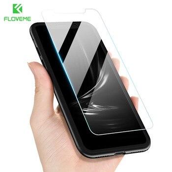 FLOVEME 360 étui de protection pour iPhone 6 6 S 7 8 Plus X XS Max XR couvercle avant en verre pour iPhone X 8 7 6 S 6 5 S coque de couverture complète