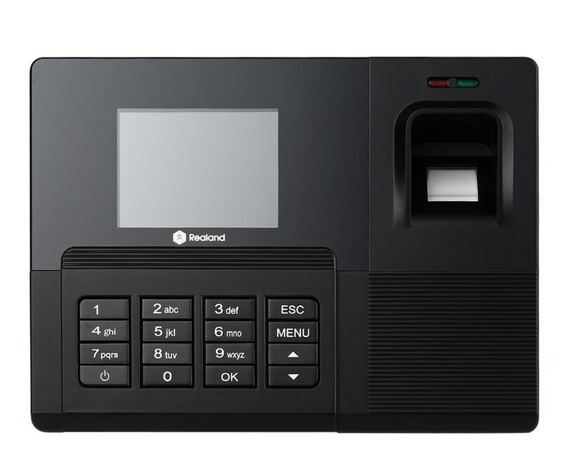 A-C030 Biometric Fingerprint Time Clock Recorder Attendance Employee Electronic With Punch Card Reader Machine biometric a c030 id card fingerprint time recording attendance clock