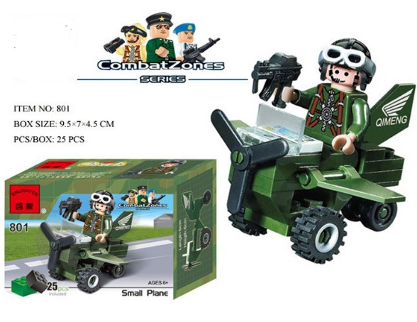 High quality Kart racing car kids corner productions Girls series Combat Zones series building blocks kids gifts