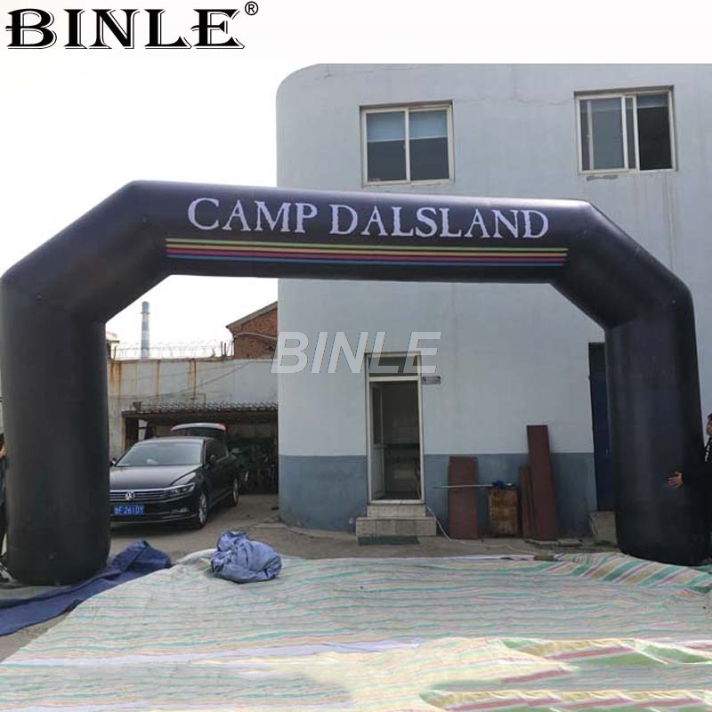 Customized mobile outdoor advertising tools branded inflatable entrance arch running race finish line arch for saleCustomized mobile outdoor advertising tools branded inflatable entrance arch running race finish line arch for sale