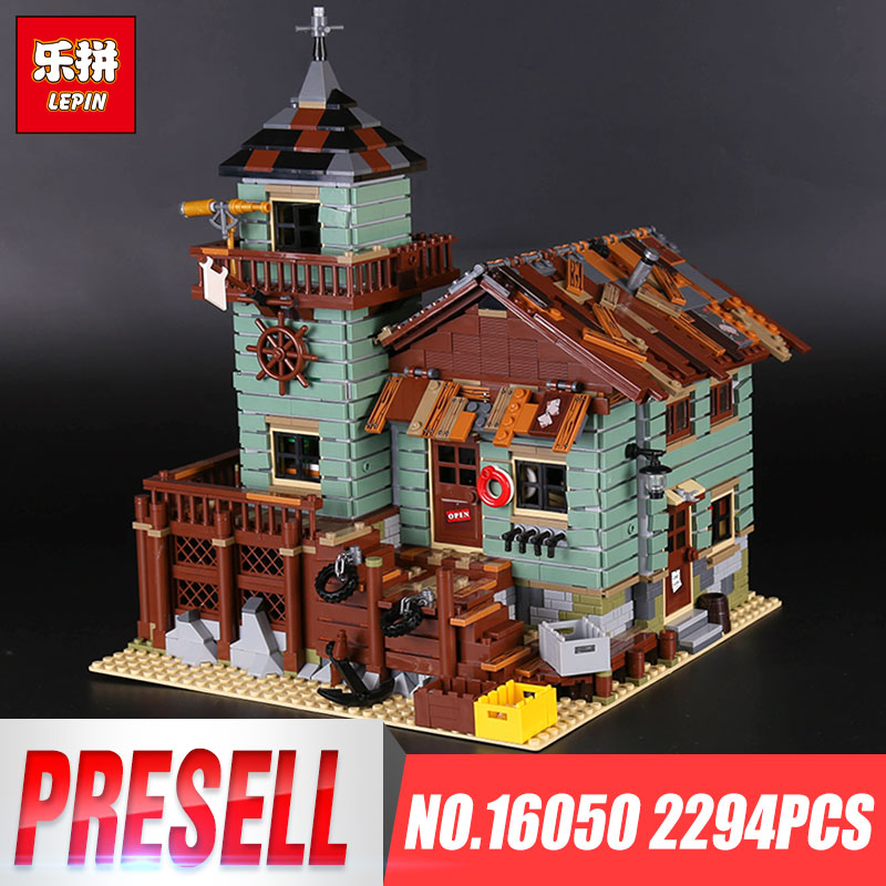 Lepin 16050 New 2109Pcs MOC Series The Old Finishing Store Set 21310 Building Blocks Bricks Christmas Gift for Children Toys managing the store