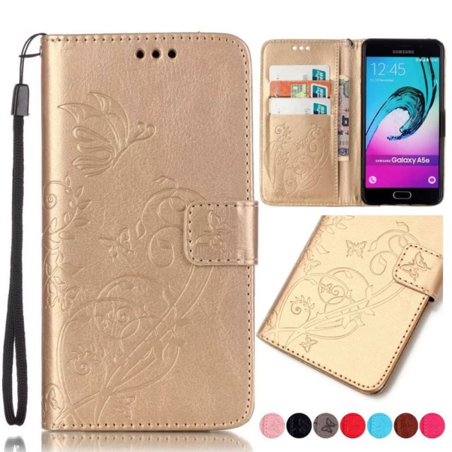 Luxury Leather <font><b>Case</b></font> For <font><b>Samsung</b></font> <font><b>Galaxy</b></font> Note 8 S8 Plus A3 A5 J1 J3 <font><b>J5</b></font> J7 2017 2016 <font><b>2015</b></font> J330 J730 J730 A320 A520 Wallet Cover Bag image