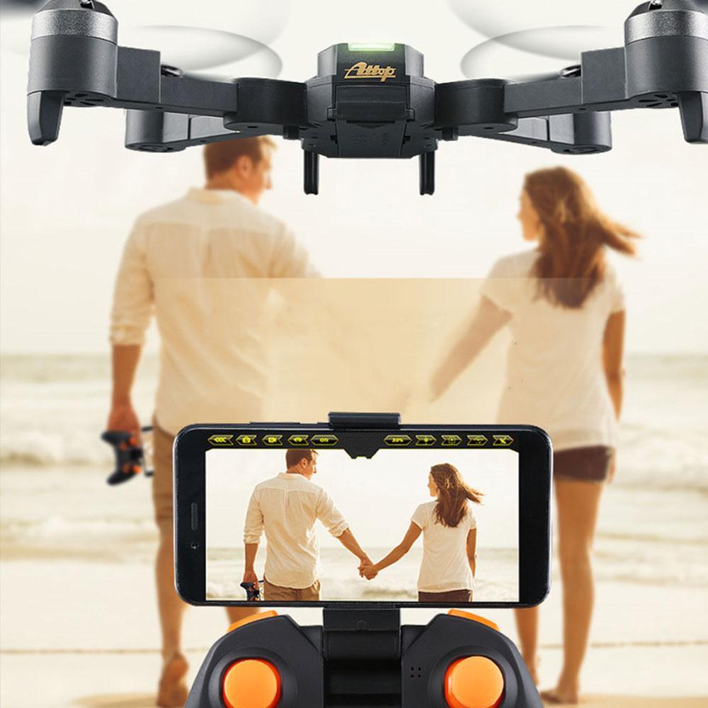 Haute Performance aéronef sans pilote (UAV) Drone quadrirotor hélicoptère avion clignotant 360 degrés roulant 2.4 GHz 1080 P 120 degrés caméra 4CH Xt-1