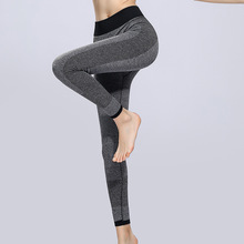 Спортивные Леггинсы с высокой талией, спортивные штаны, одежда для спортзала, трико для бега и тренировок, женские спортивные Леггинсы, штаны для фитнеса и йоги