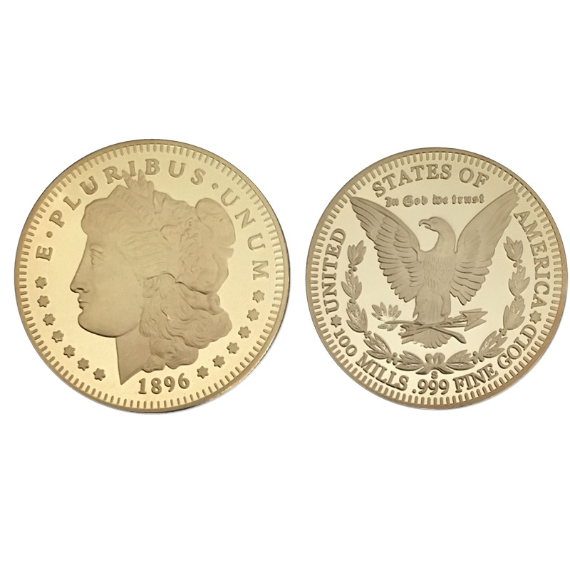 1896-American-Goddess-Liberty-E-P-LURIBUS-UNUM-In-God-We-Trust-Fine-Gold-Coins-Collectibles