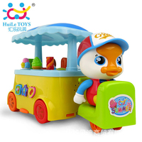Hui Le708 Baby Toy Colorful Ice Cream Car Toy Electric Music Light Car Children S Car