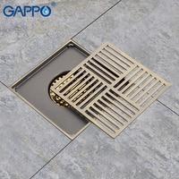 GAPPO Drains Anti odor floor bathroom drain shower floor drains bathroom plugs shower drain stoppers