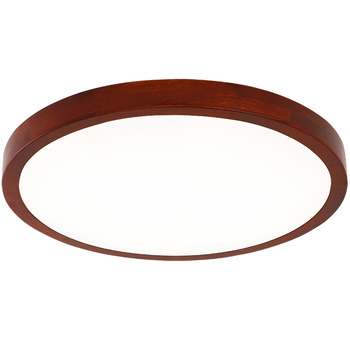 Modern Chinese ceiling lamp compact circular solid wood lamp LED bedroom lamp hallway lamp staircase dining room lampsLL03161111