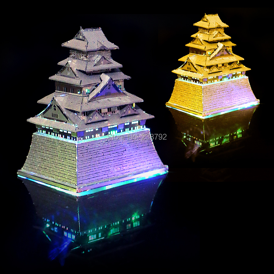 3D Metal Puzzle Japan Osaka Castle Architectural