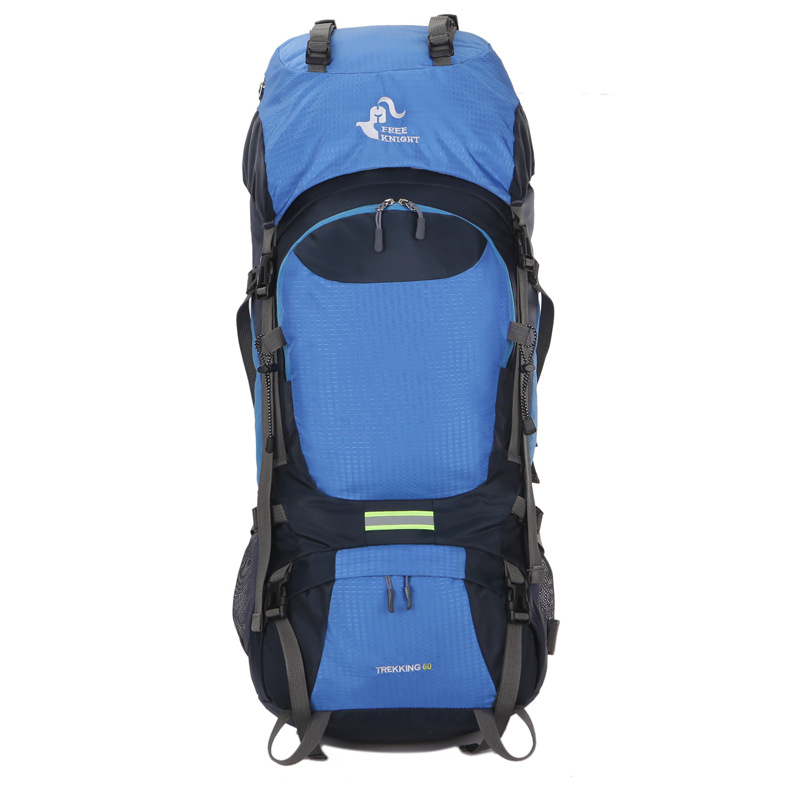 Climbing Backpack 60L Free Knight Outdoor Rucksack Cycling Waterproof Hiking Bag Mountain fitness basket Backpack cycling multi function outdoor sports backpack bike bag 22l motorcycle rucksack backpack bag with waterproof rain cover