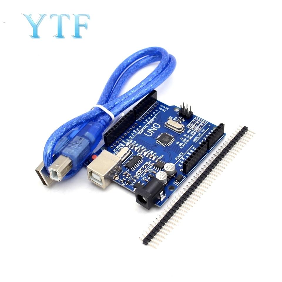 Uno R3 MEGA328P ATMEGA16U2 /& CH340G Board Arduino kompatibel DIY USB Kabel