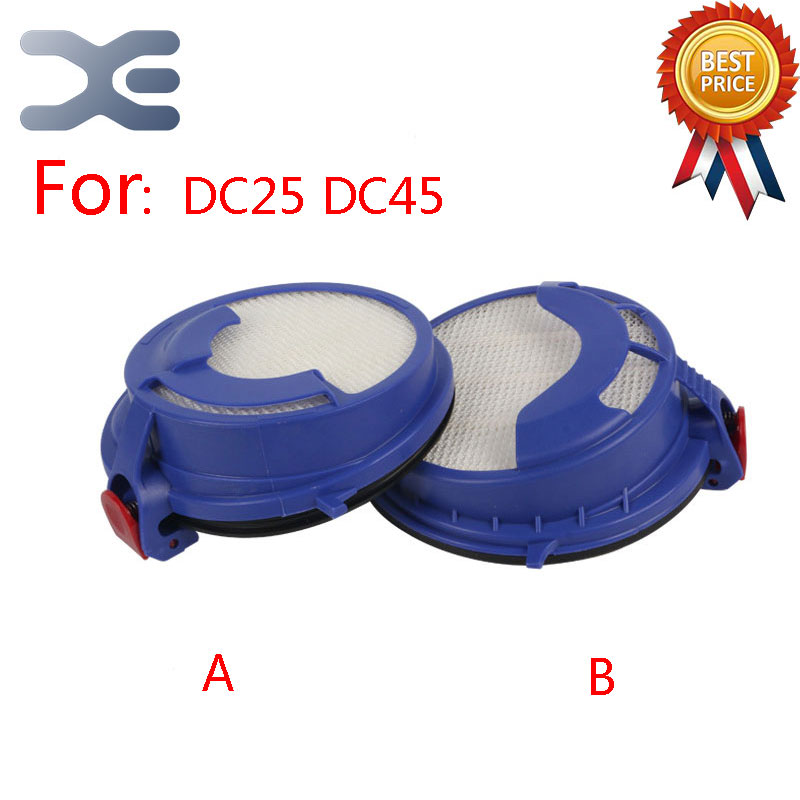 dyson dc45 up top 2 Models Adaptation For Dyson DC25 DC45 HEPA Filter Vacuum Cleaner Filters