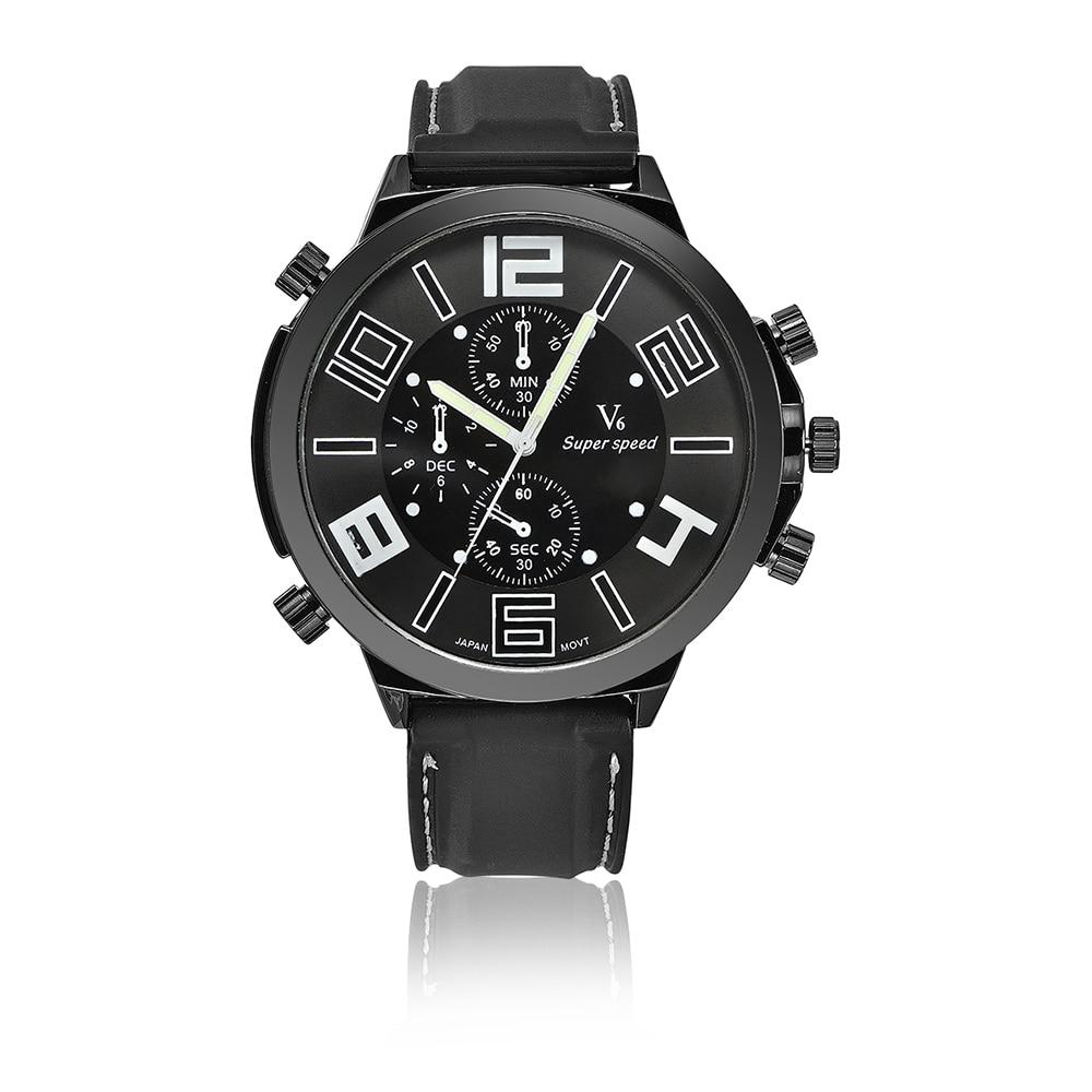 낙하 패션 스포츠 5.5 CM 슈퍼 큰 다이얼 시계 2019 - 남성 시계
