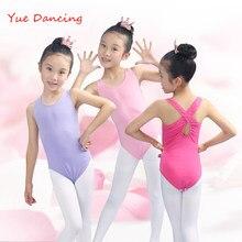 0d5f4b925 Rosa Amarelo Azul Preto Roupa Dos Miúdos Roupas de Ginástica Dança Collant  Collant De Ginástica Rítmica Bailarina Meninas Traje .