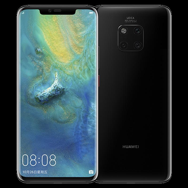 Huawei Mate 10 Pro Ponsel 6.39 Inci Layar Penuh Tahan Air IP68 40 MP 4 Kamera Kirin 980 Octa Inti cepat Charger 10 V/4A