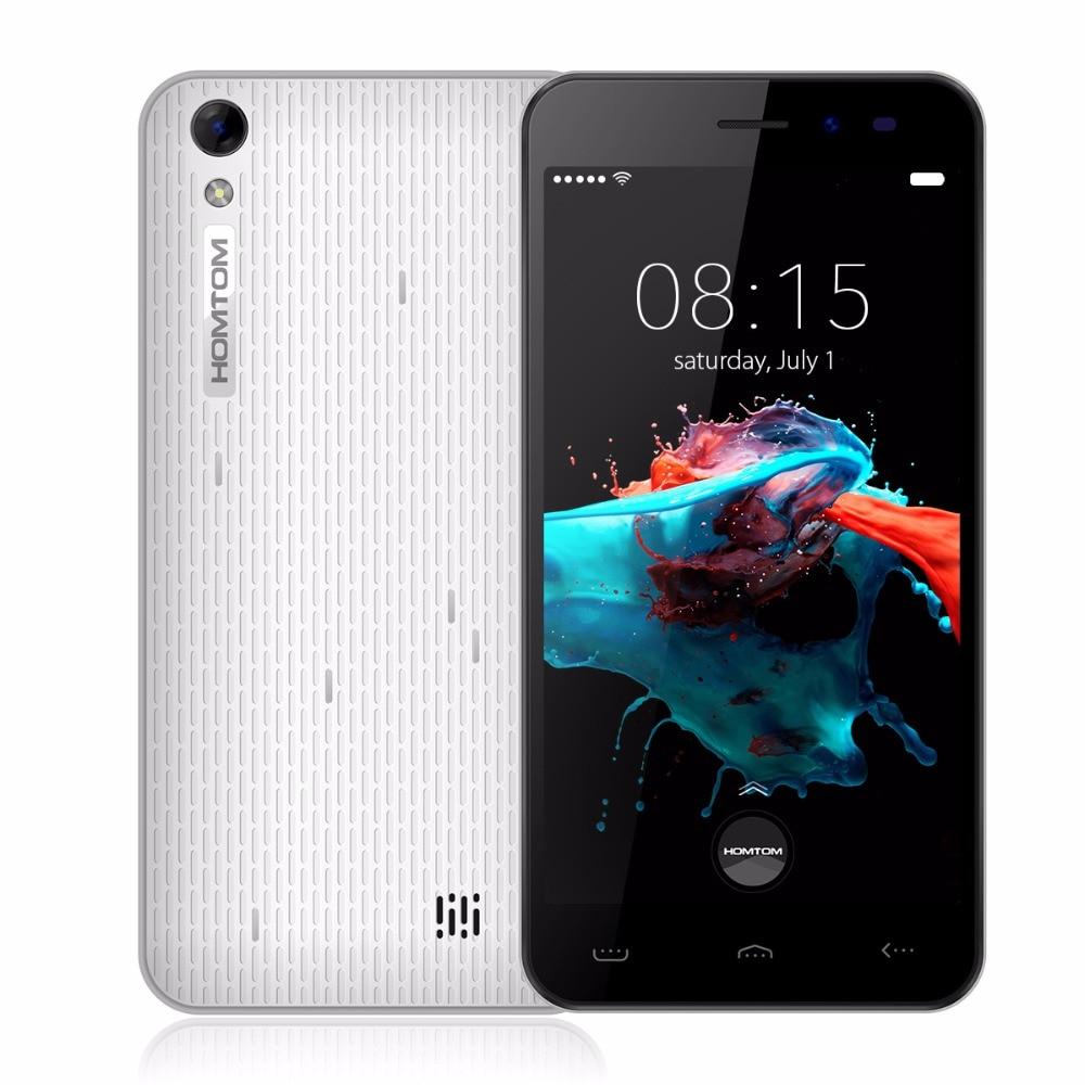 Original Homtom HT16 5 0 inch Android 6 0 MTK6580 Quad Core 3G 1GB RAM 8GB
