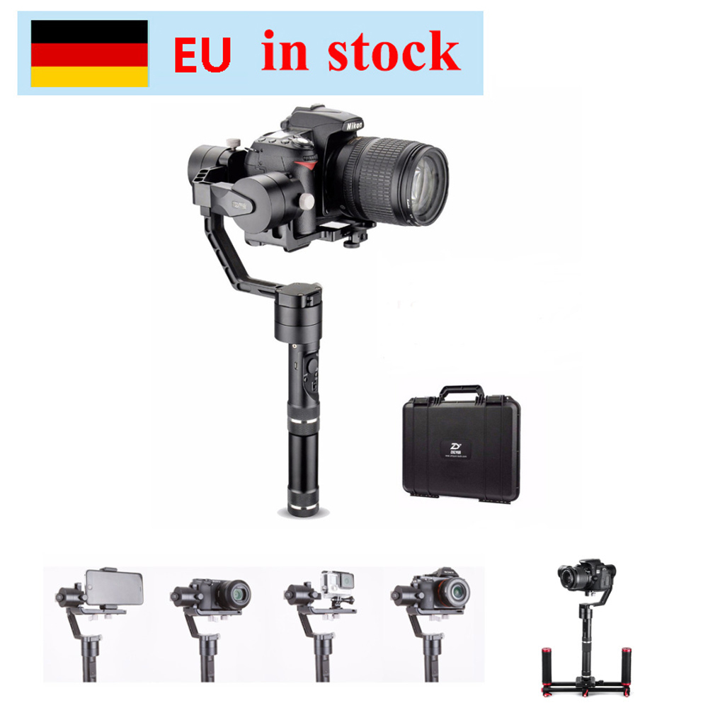 (can ship from EU) Zhiyun Gimbal Crane V2 3 Axis Handheld Gimbal Stabilizer for Canon Nikon Sony DSLR Cameras w/ Hard Case