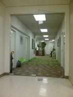 مكتب فرملس زجاج الباب للبيع ، نظام مكتب مدخل الباب فرملس ، الحديثة زجاج الباب